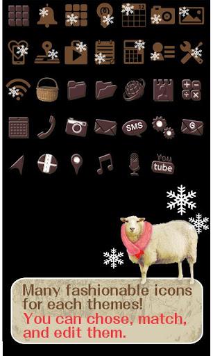 Cute Wallpaper Snowy Sheep 1.0 Windows u7528 4