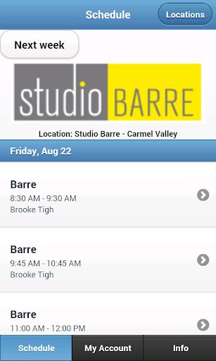 Studio Barre Carmel Valley