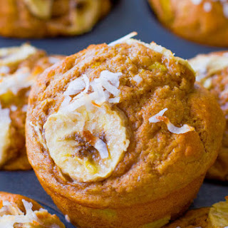 Skinny Tropical Muffins