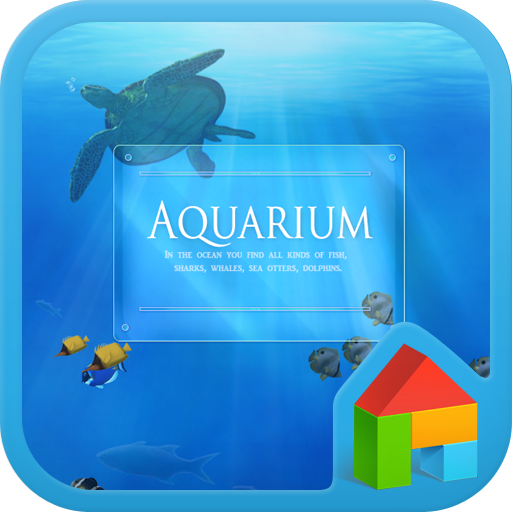 Aquarium dodol launcher theme