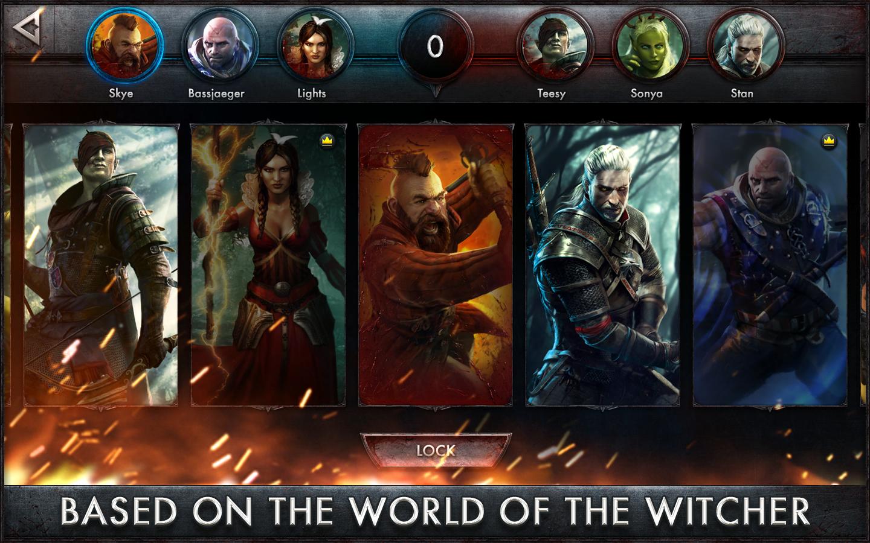 The Witcher Battle Arena - screenshot