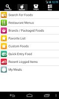 Screenshot of CarbsControl Carb Tracker