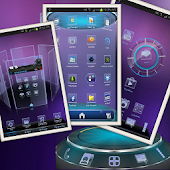 Neon-HD Next Launcher 3D Theme