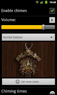 Hunter Cuckoo for Chime Time
