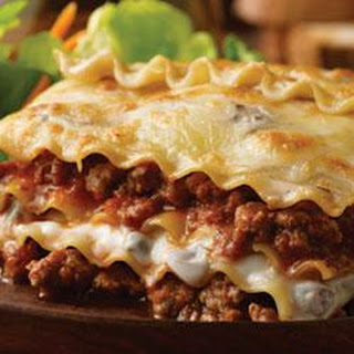 Beef and Mushroom Lasagna