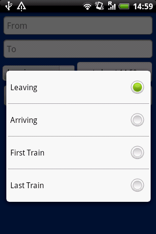 UK Trains Journey Planner Free - screenshot