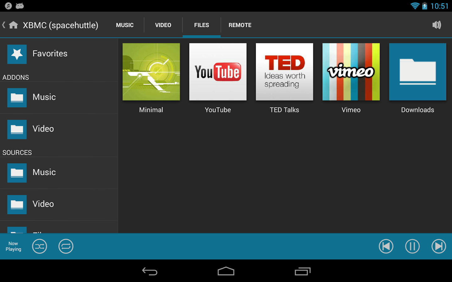 Music Pump XBMC Remote - screenshot