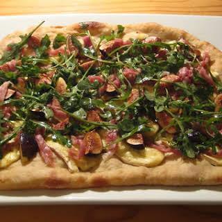 Fig, Brie & Prosciutto Pizza.