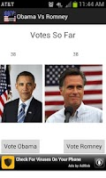 Screenshot of Vote For Obama and Romney