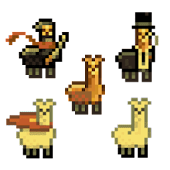 Llama Giving Game