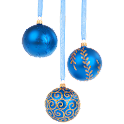 Christmas Ornament Blue icon