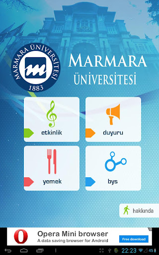 Marmara Universitesi Portal