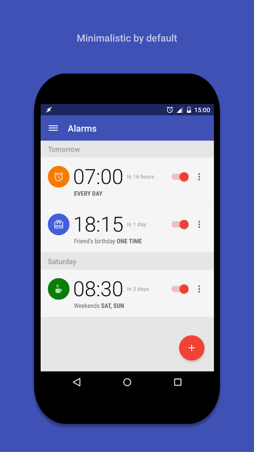 AlarmPad - Alarm Clock Free- screenshot