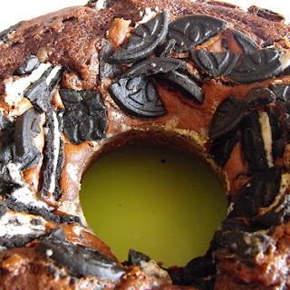 Chocolate Cake with Oreos.
