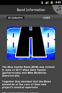 Blue Handel Band - screenshot thumbnail