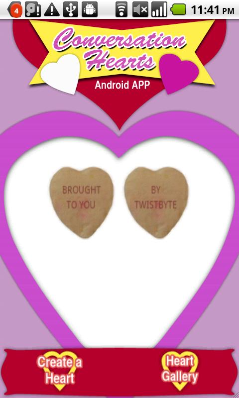 Conversation Hearts Plus - screenshot