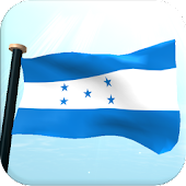 Honduras Flag 3D Wallpaper