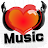 Music Heart ! This is best! logo