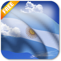 3D Argentina Flag LWP icon