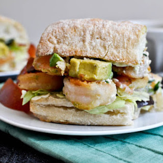 Crispy Shrimp Sandwiches.