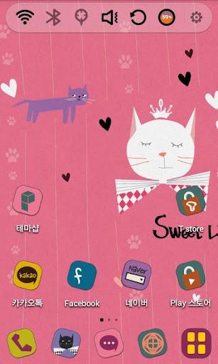 玩免費個人化APP|下載내 작은 고양이 런처플래닛 테마 app不用錢|硬是要APP