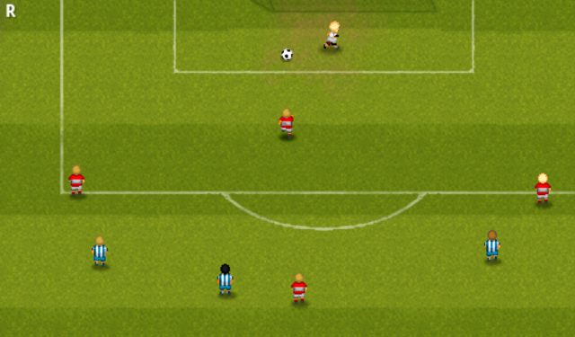 Striker Soccer- screenshot