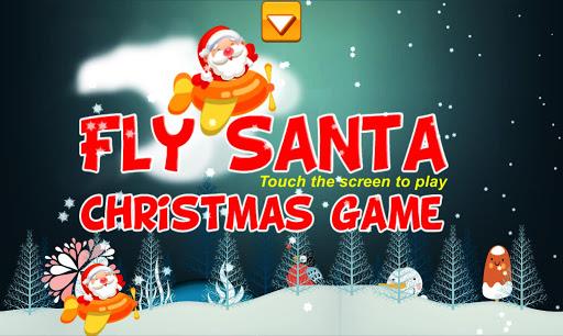 산타 플라이 - 크리스마스 게임