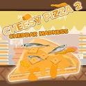 Cheesy Pizza 2 Cheddar Madness logo