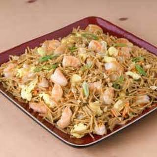 Asian Shrimp & Peanut Stir-fry.