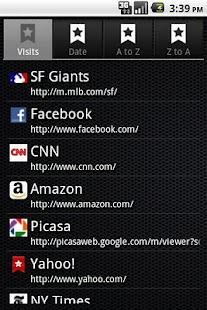 Bookmarks Light- screenshot thumbnail