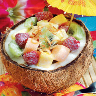 Coconut Grove Fruit Salad.