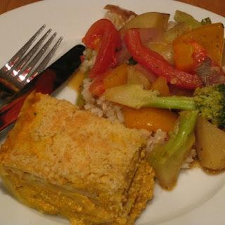Thai Pumpkin Lasagna