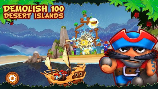 Potshot Pirates 3D Free- screenshot thumbnail