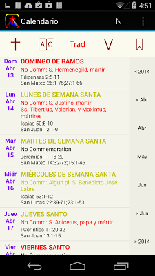 iPieta Español - screenshot