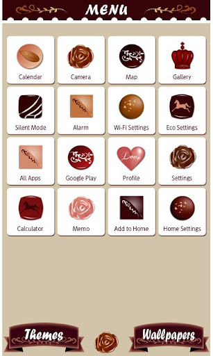 Cute Wallpaper Chocolate Love 1.0 Windows u7528 3