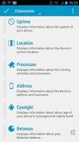 Screenshot of Dashclock Location Extension