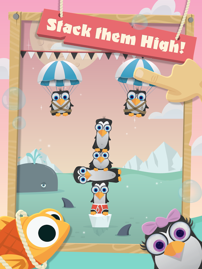 Penguin Pile-Up - screenshot