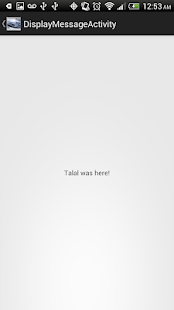 Talal's First App - screenshot thumbnail
