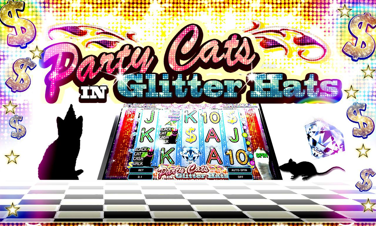 Glitter Kitty Slots FREE- screenshot