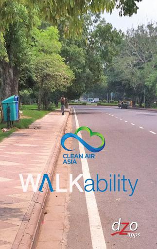 CAI Asia - Walkability App