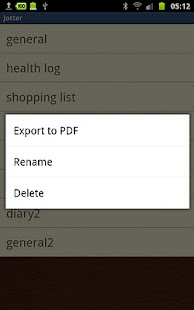 Jotter (For Galaxy Note)- screenshot thumbnail