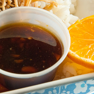 Orange Teriyaki Sauce.
