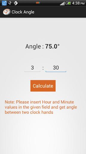 Clock Angle