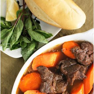 Bo Kho Vietnamese Beef Stew.