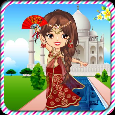 Индийская принцесса одеваются