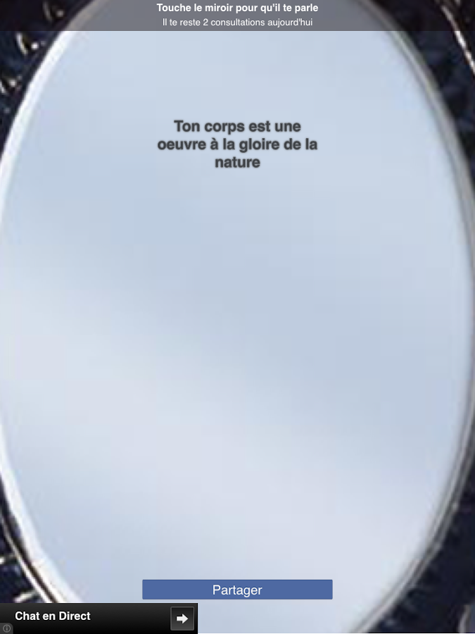 Mon beau miroir android apps on google play for Application miroir android