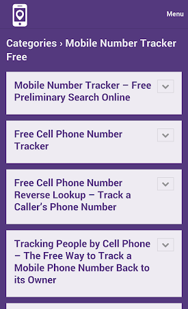 Mobile Number Tracker Tips 1.0 screenshot 9972