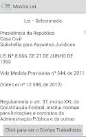 Screenshot of Quiz Concurso Publico Pro