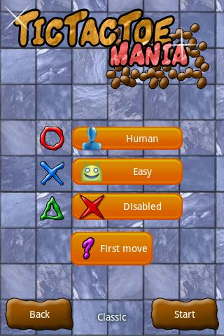 Tic Tac Toe Mania - screenshot
