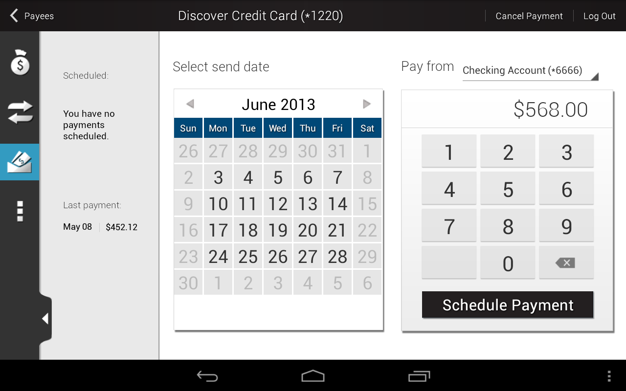 Ascend Federal Credit Union - screenshot